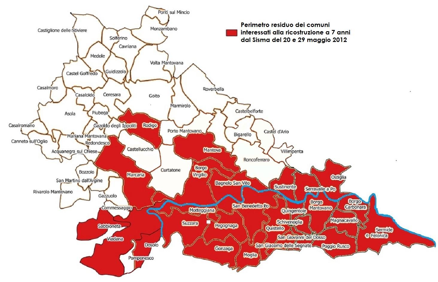 Cartina Lombardia Con Tutti I Comuni.Il Sisma Del 20 E 29 Maggio 2012 In Lombardia